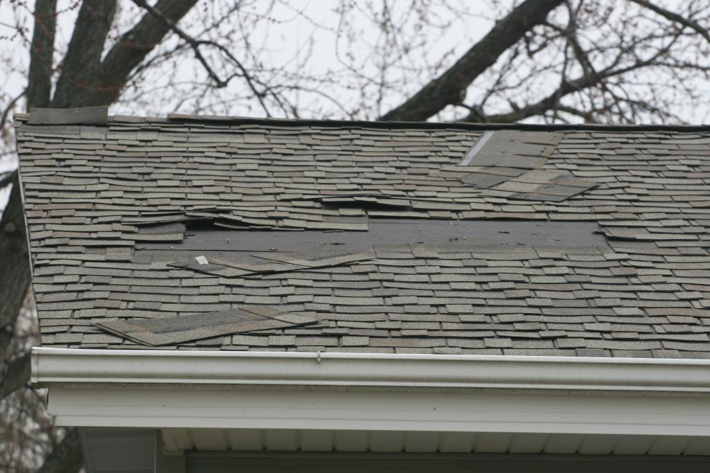 Storm roof repair in Maryland
